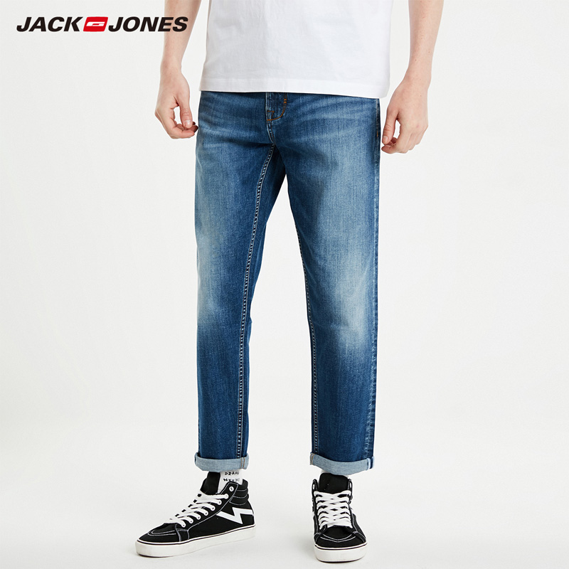Jack&Jones  Men's Stretch Crop Jeans| 219132569