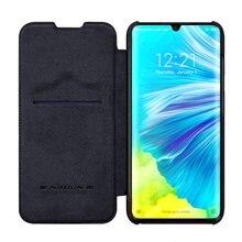 Pour Xiaomi mi Note 10/Note 10 Pro housse de protection Nillkin QIN série luxe en cuir étui de protection à rabat housses pour mi CC9 Pro