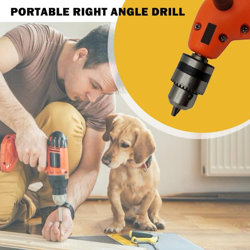 90 Degree Right Angle Drill Skillful Manufacture Electric Power Cordless Attachment Superior Quality Chuck Adapter