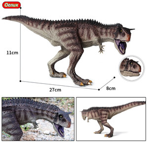 Image 4 - Oenux מקורי פרהיסטורי עולם דינוזאור טירנוזאורוס Therizinosaurus ספינוזאור פעולה דמויות דינוזאורים היורה דגם צעצועים