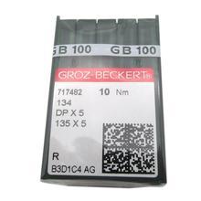 100 # DPX5 Groz Beckert 134 135X5 DPX5 SY1955 ماكينة خياطة إبرة تناسب المغني PFAFF