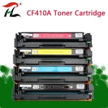 Compatible for HP Toner Cartridge 410A CF410A CF410 CF411A CF412A CF413A Color LaserJet Pro M452dn/M477fdw картридж hp 410a cf411a cyan для laserjet