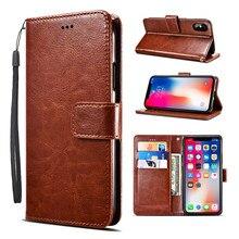 Leder Flip Fall für Leagoo T5 T5C T8 T8S S11 S9 Pro Fall Wallet Card Slot Telefon Abdeckung für Leagoo z7 Z10 Fall