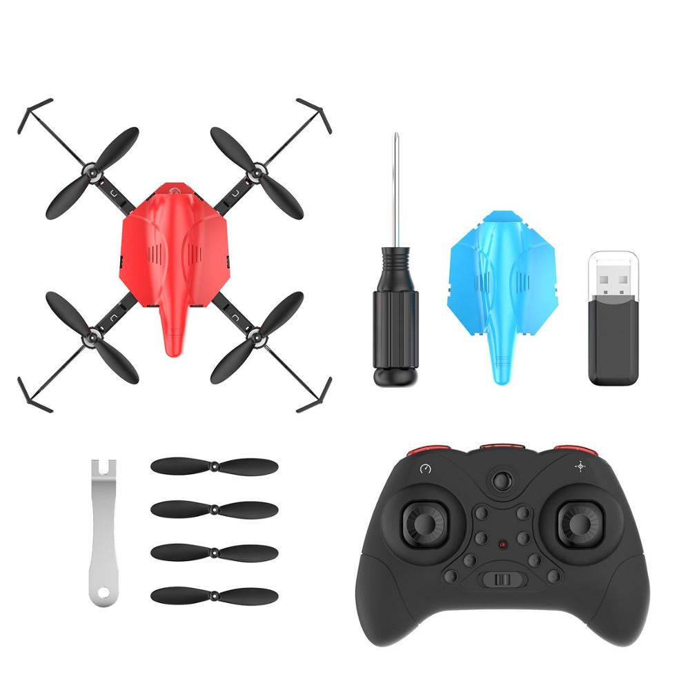Holy Stone 2PCS HS177 Battle Drone With Infrared Emission RTF RC Helicopter 3D Flips 3 Speed Modes 6-Axis Gyro Battle Quadcopter