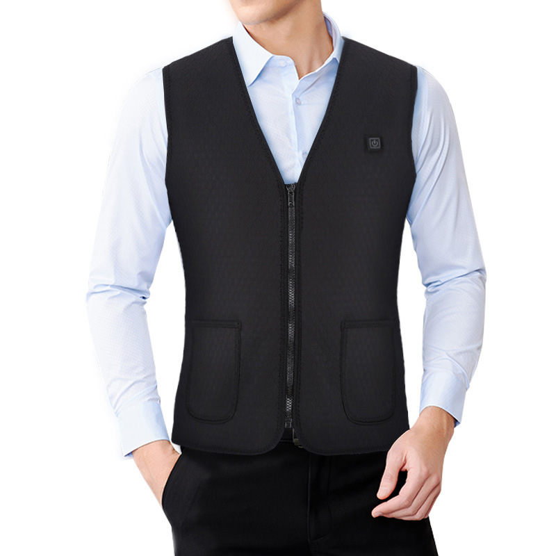 Mobile Power Heating Waistcoat Electric Vest Self-heating Vest Healthy Preserving Electric Clothes Winter Clothes