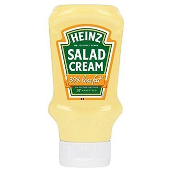 Heinz Insalata Crema Chiaro Il 30% In Meno Di Grassi 415g (Confezione da 6)