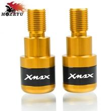 For YAMAHA XMAX300 XMAX 125/200/250/400 Motor Handlebar Grips Bar End Cap Bicycle Grips Handlebar End Gear Balanced Plug Slider цена