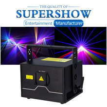 Projector Disco Laser-Lights Professional Channels RGB 2W 3W Newest 12-Dmx Full-Color