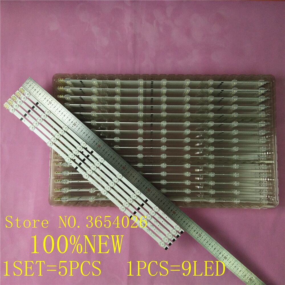 20PCS 655MM LED For SamSung Sharp-FHD 32''TV D2GE-320SC1-R0 CY-HF320BGSV1H UE32F5000AK UE32f5500AW UE32F5700AW HF320BGS-V1 NEW