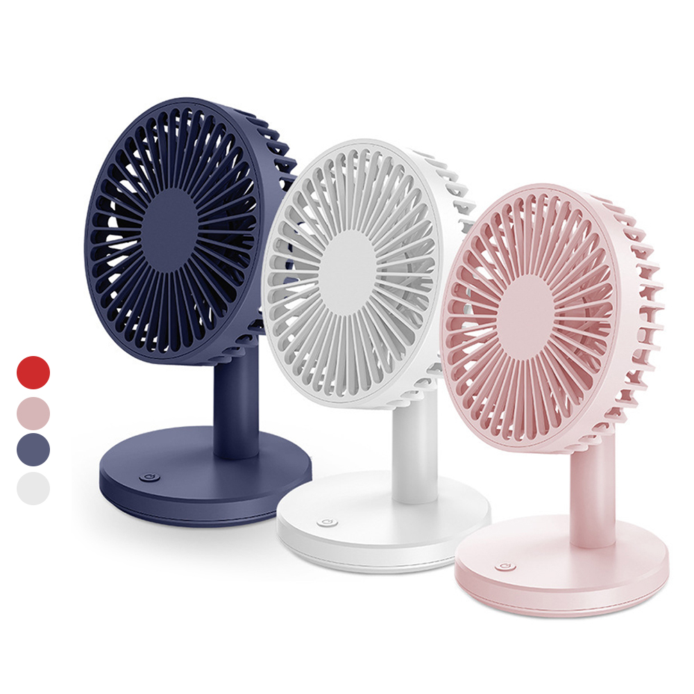 Color : Green USB Table Desk Personal Fan USB Mini Fan Creative Recgargeable Mute Desktop Small Fan Computer Office Bedroom Electric Fan for Home Office Table