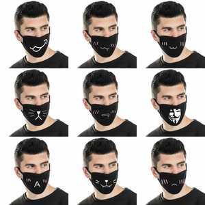 Image 5 - Мультяшная мультяшная маска для лица с изображением жареного цыпленка, прохладная маска для верховой езды, Пыленепроницаемая, милая нейтральная/для мужчин и женщин