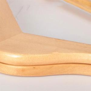 Image 4 - 10pcs Solid Wood Hanger Non Slip Hangers Clothes for Hangers Shirts Sweaters Dress Hanger Drying Rack for Home