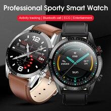 2020 DEMOR KT33 erkekler akıllı izle bağlı ekg kalp hızı kan basıncı monitörü Smartwatch honor magic 2 gt mi android telefon