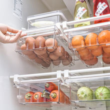 Регулируемый 4/8 сетка Кухня органайзер для яиц шкаф хранения