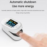Oxímetro Digital portátil para deportes al aire libre, medición de llave de salud para el hogar, multifunción, OLED, para la yema del dedo