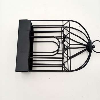 Creative Mosquito Coil Holder Nordic Style Birdcage Shape Summer Day Iron Mosquito Repellent Incenses Rack Plate Home Decoration 6
