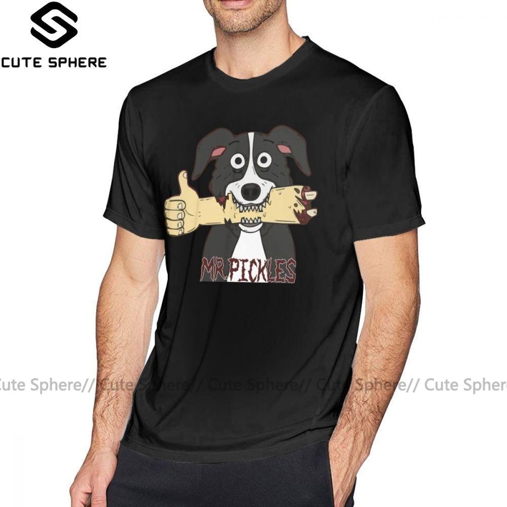 Mr Pickles T Shirt Mr Pickles 02 T-Shirt Printed Funny Tee Shirt Classic Mens 100 Cotton Plus Size  Short Sleeves Tshirt