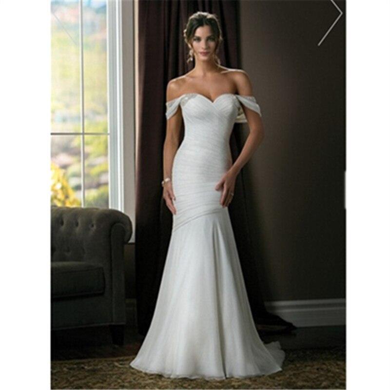 Embroidery Vestido De Noiva Lace Satin New Design Elegant Mermaid Sweetheart Beading Bridal Gown 2018 Bridesmaid Dresses