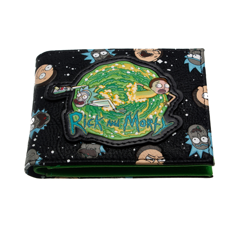 Rick And Morty Wallet Designer's High Quality Innovative Purse DFT10069