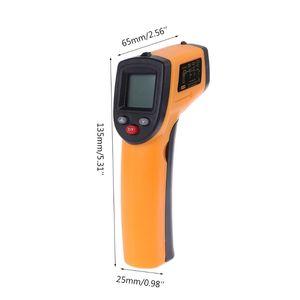 Цифровой инфракрасный термометр GM320 Бесконтактный пирометр ИК-измеритель температуры
