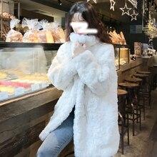 Fur Coat Lamb Winter Women's New Warm Autumn Top And Versatile Goddess-Style Temperament