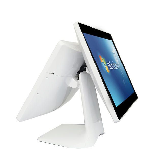 ComPOSxb – borne de Point de vente, tout-en-un, écran tactile, double écran, 15 + 15 pouces 2