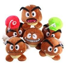 Toy Plush Mushroom Birthday-Gift Animation 5 Mario Super-Mary Boy Chestnut Poison Around