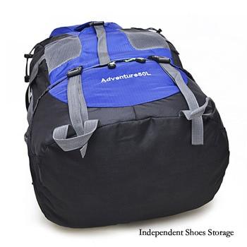 50l hiking backpack climbing bag o