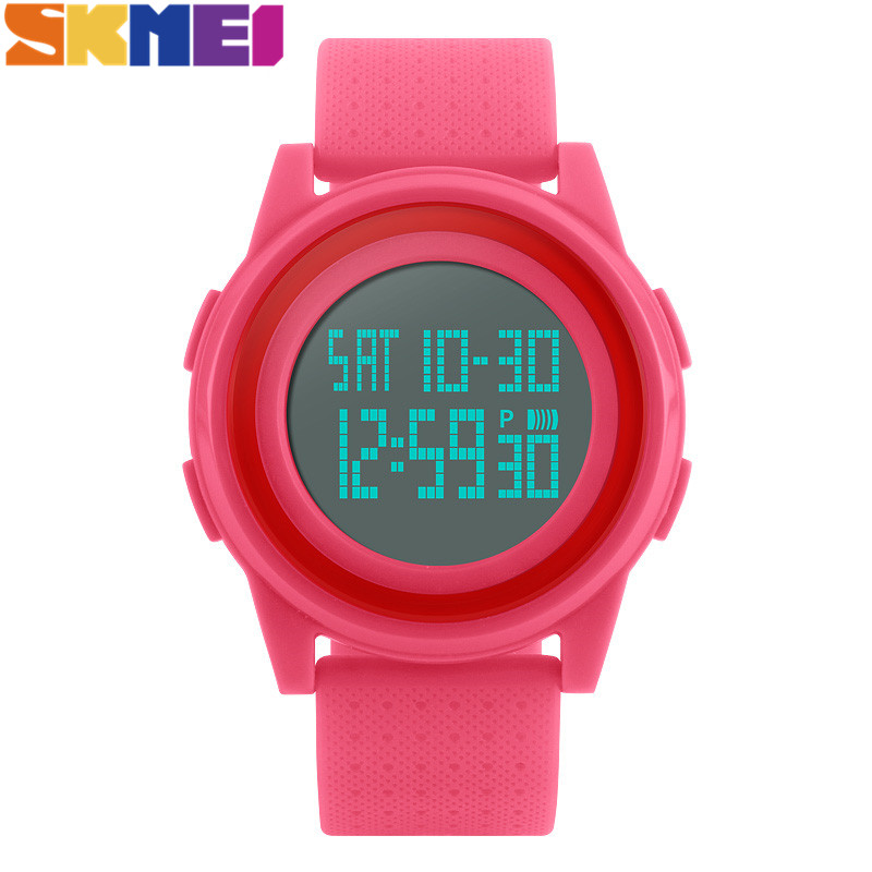 <font><b>SKMEI</b></font> Watch Women Clock Digital Couples Men Sport Watches Back Lighte Chrono Women Wrist Watch relogio feminino reloj mujer <font><b>1206</b></font> image