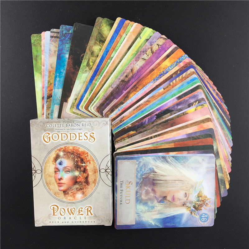 Goddess Power  Oracle  Tarot Cards Board Game Card Full English Version High Quality Tarot Deck For Family Party Game