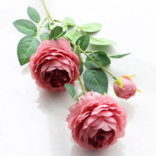 Real Touch Big Artificial Peony Bouquet Wedding Decoration Mariage Bridal Bouquet Party Christmas Home Decoration Accessories 4colors silk peony rose hybrid bouquet artificial flower bridal bouquet wedding decoration diy home party