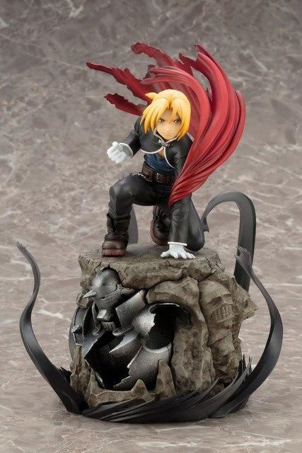 [Haut] 22cm Fullmetal alchimiste Auto Mail Edward Elric Alphonse Elric japonais Manga PVC figurine modèle à collectionner jouet
