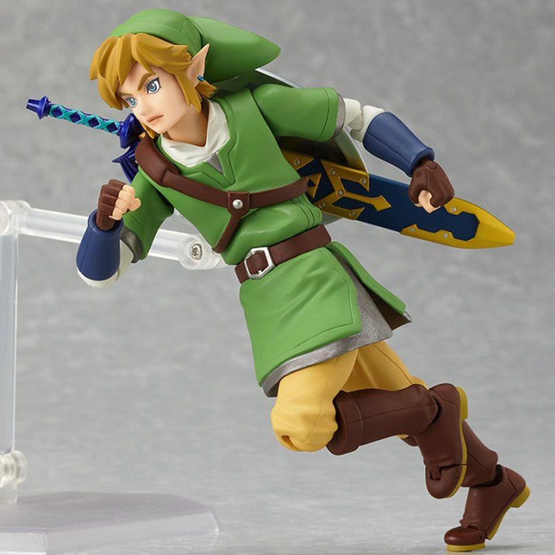 Zelda Skyward Link Action Figure 14cm 2