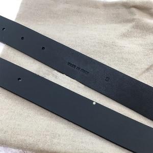 Image 5 - Cosmicchic Top Quality Leather Belts For Women Fashion Week Big Irregular Metal Buckle Fashion Luxury Designer Double Waist Belt