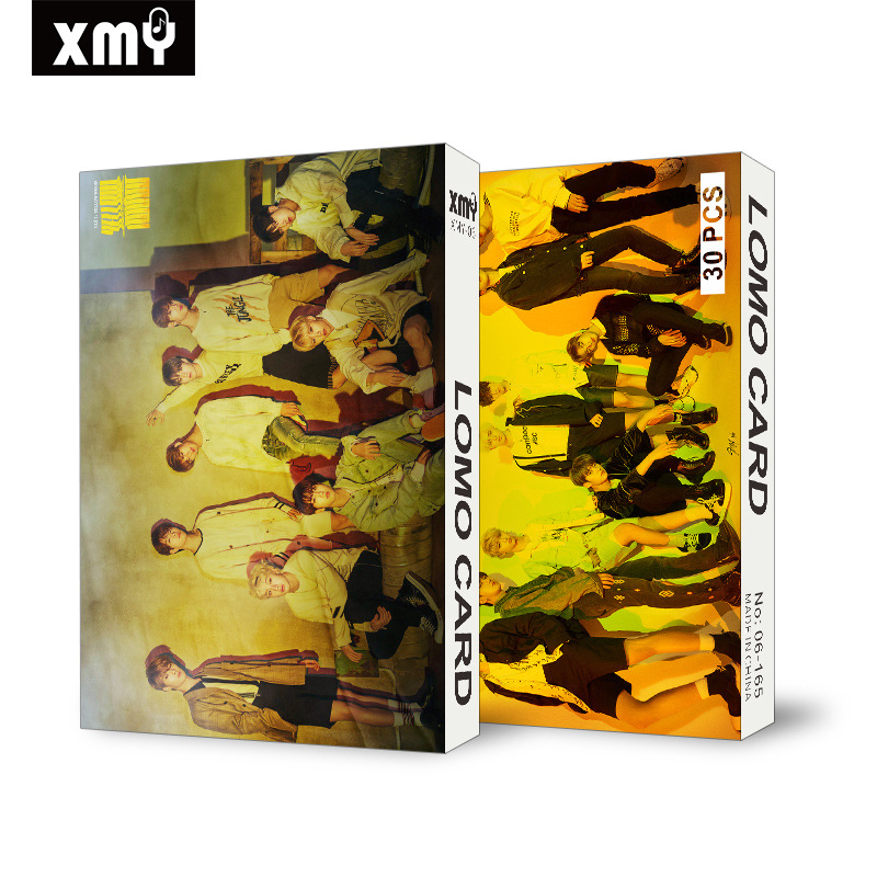 30pcs/set KPOP Stray Kids BLACKPINK TWICE GOT7 Photocard High Quality HD Album Photo Card Kpop