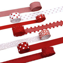 DIY Gift Ribbon-Set Packing Lace Day-Material Grosgrain David-Accessories Home-Crafts