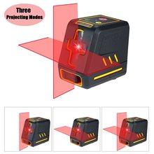 Niveau Laser professionnel ligne transversale horizontale et verticale auto-niveleur niveau à bulle auto-nivelant lignes Laser