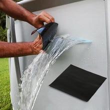 1PCS 슈퍼 강력한 테이프 패치 강력한 접착 테이프 방수 섬유 누출 테이프 인감 수리 테이프 방수 수리 도구