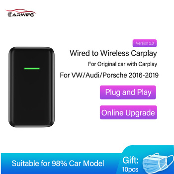 Carlinki CarPlay Wireless For Car Apple Usb Dongle Carplay2air wireless adapter Car Play For Audi Benz Cars Cars Dongle Wireles