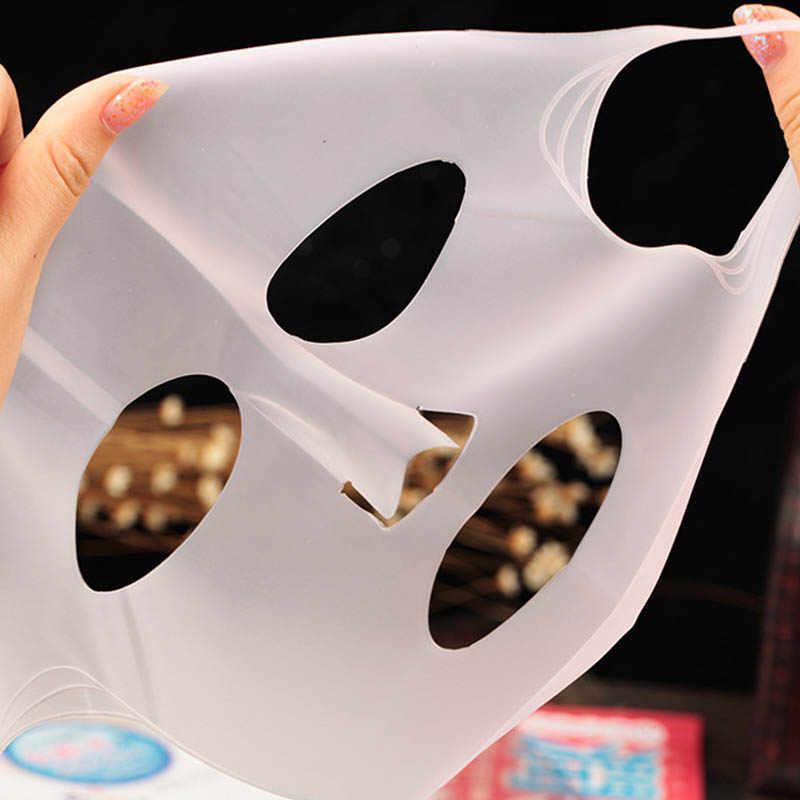 1 шт. Лучшее Поглощение без питания отходы Женщины Леди поставки многоразовый силикон маска крышка предотвращает вещество для маски испарения