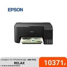 Принтер/сканер/копир Epson L3100 A4, 4-х цв. стр. фотопечать, черный