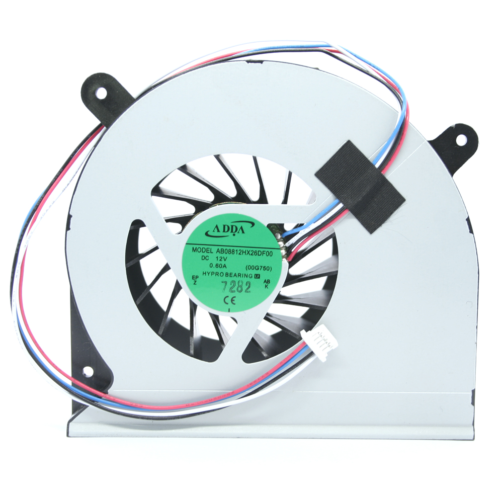 New ADDA AB08812HX26DB00 cooling fan For Asus G750JW G750J 00G750JH DC 12V 0.60A 4pin 4 line Cooler Fan image