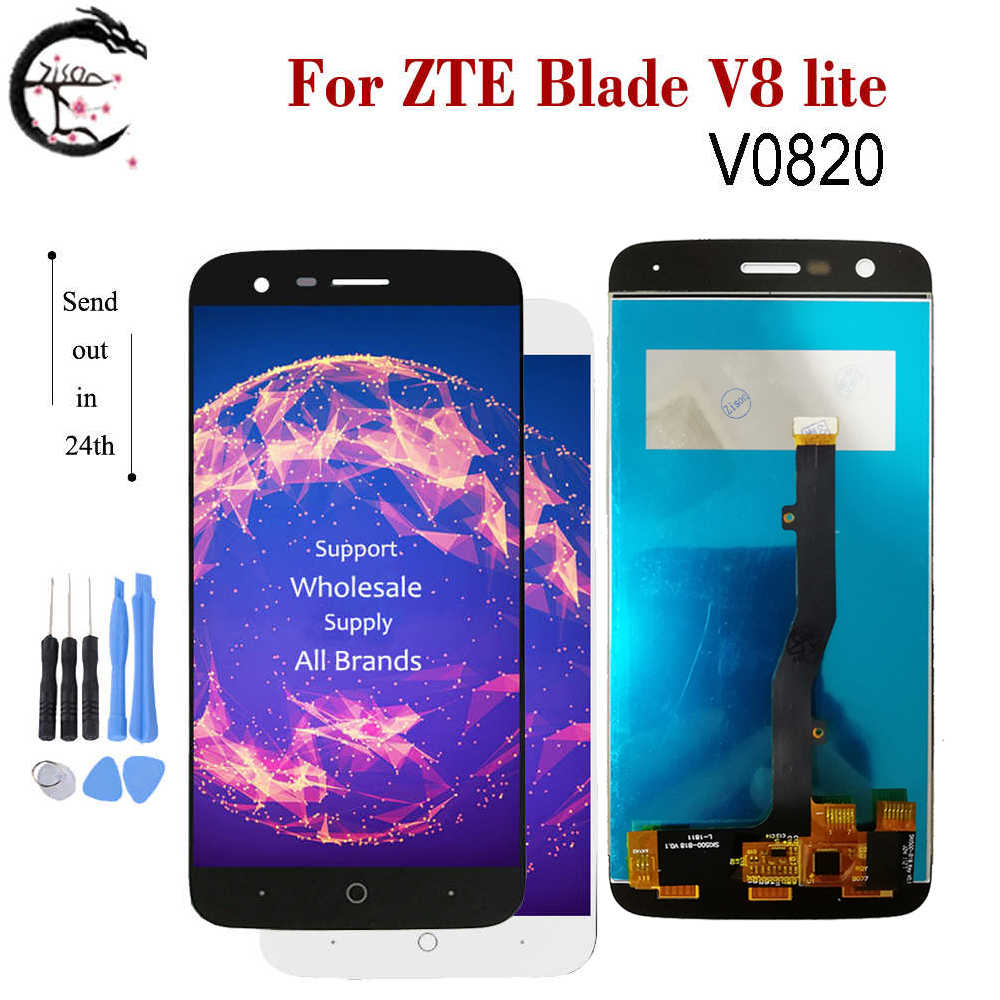 "5"" LCD For ZTE Blade V8 lite V0820 Full LCD Display Screen Touch Sensor Digitizer Assembly Blade v8lite Display Replacement LCD