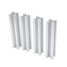 4pcs/lot 2020 Aluminum Profile Extrusion 100mm to 600mm Length Linear Rail 200mm 400mm 500mm for DIY 3D Printer Workbench CNC