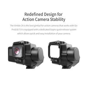 Image 5 - FeiyuTech Vimble 2A Action Camera stabilizator ręczny z 180mm tyczka przedłużająca do Gopro Hero 8 7 6 5 Gimbal