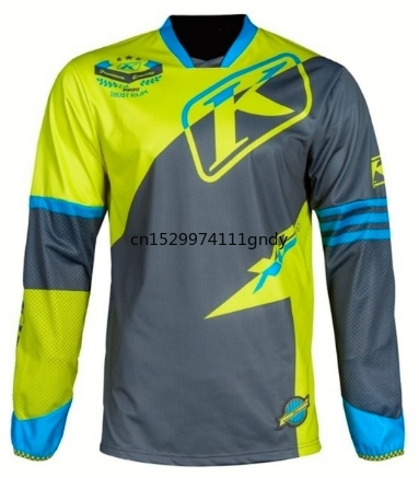2020 Nieuwe Klim Motocross ATV Jersey Downhil Mountainbike DH Shirt MX Motorfiets Kleding Ropa Voor Mannen Quick Dry MTB T Shirt