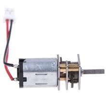 DIY двигатель постоянного тока N20 большой крутящий момент мотор-редуктор с XH2.54-2P кабелем для умного автомобиля