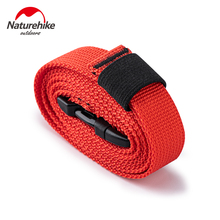 Naturehike 2 Pcs Durable Multi-purpose Strapping Strap Outdoor Camping Mat Tent Tied Rope Travel Cargo Tie Luggage Belt Strap