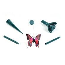 Солнечная энергия бабочка с крыльями сад патио путь цветочный горшок Летающий танец Декор
