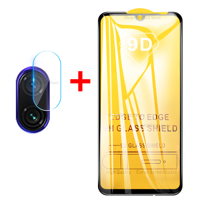 9D Tempered Glass + <font><b>Camera</b></font> Len Film For <font><b>Xiaomi</b></font> Mi 9 SE 8 Lite 9T Pro <font><b>Mi9</b></font> Mi8 Redmi 7 Note 5 6 7 Pro Full Cover Screen <font><b>Protector</b></font> image